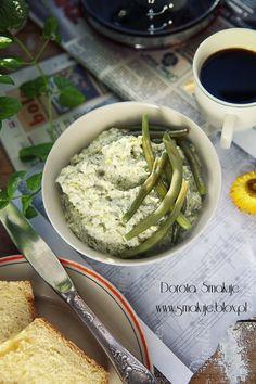 Pasta do chleba z fasolki szparagowej