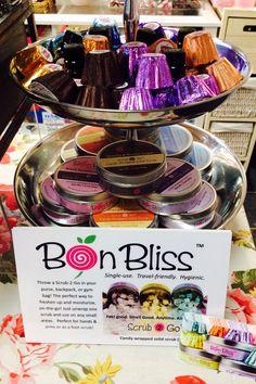 Bon Bliss single use candy scrubs container $10.95 ea
