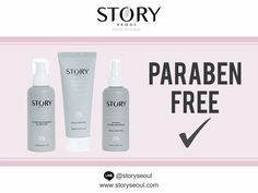 Are Story Seoul Skincare Products Paraben Free?  Check ✔️ Story Seoul is committed to using only the finest and purest ingredients to achieve healthy and beautiful skin. 100% toxic-free. 👍