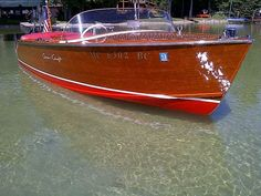 Vintage Chris Craft Wooden Boat - my heart be still!!!!!!