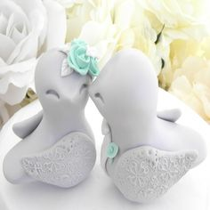 nice The Unique Décor of Love Bird Wedding Cake Toppers Check more at http://jharlowweddingplanning.com/the-unique-decor-of-love-bird-wedding-cake-toppers