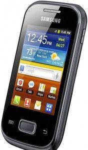 Samsung Galaxy Pocket (Running on android gingerbread)