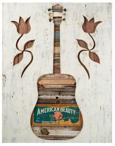 Dolan Geiman - guitar wall