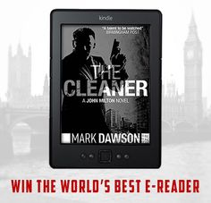 WIN a Kindle and 4 John Milton thrillers