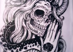 """""""Day of the Dead"""" Beauty"""