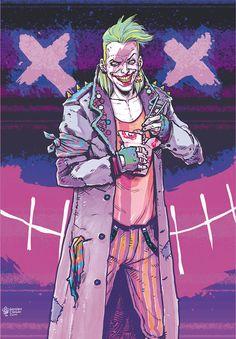 80s Style Joker - Michael Dialynas