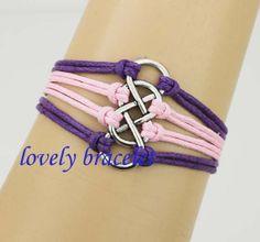 Silver Infinity & infinity Bracelet Women by lovelybracelet, $2.99