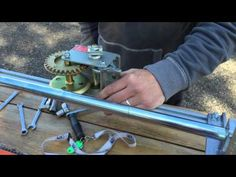 Chainsaw Mill Winch - YouTube
