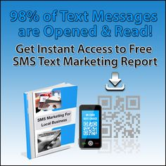 Free report shows you how to reach more people who are ready to buy through SMS text marketing. #SMSMarketing  #SMSTextMarketing  #TextMarketing