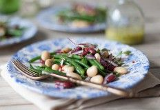 Want an easy side dish for the braai or barbecue Try this easy three bean salad recipe Vegetable Salad, Vegetable Side Dishes, Side Dishes Easy, List Of Salads, Three Bean Salad, Three Beans, Main Course Dishes, Bean Salad Recipes, South African Recipes