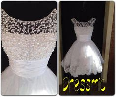 New  Fashion Lace Bridemaid Dresses Mini Short Pageant by Dressmic, $149.00