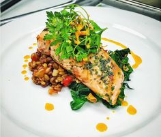 Did you know that wild-caught Alaskan salmon freezes well because it comes from very cold waters? Try this seared salmon recipe from Chef Michel Mischan that was featured during the James Beard Foundation's Taste America Tour presented in association with The Ritz-Carlton Rewards Credit Card.