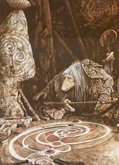 Bare Footed Pagan shared Longwalker picture from Dark Crystal on FB