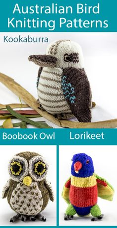 measures 15.5 cm when complete KNITTING Pattern Toy Penguin pattern in DK wool