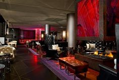 "Not a lobby, it's a ""Living Room"" at the Foshay at W Hotels Minneapolis"
