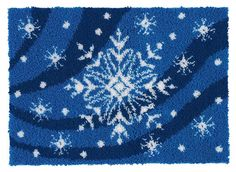Winter Wonderland Latch Hook Rug Kit