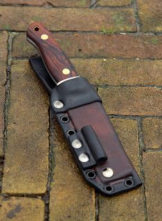 Sheaths for Knives: Technical Bushcraft Sheath