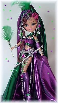 METALLICA* The WARRIOR* CUSTOM OOAK DOLL*Ever after high/Monster high * By cindy