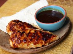 Chicken with Orange-Chipotle Glaze