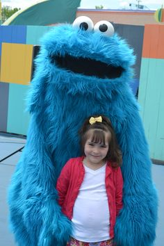 We Love it! Great Photo! cookie monster Sesame Place