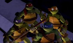 TEENAGE MUTANT NINJA TURTLES Animated Series Trailer                Here's a second trailer for for the new CG animated Nickelodeon seriesTeenage Mutant Ninja Turtles. It looks like it could be pretty entertaining. I know my kids are exci