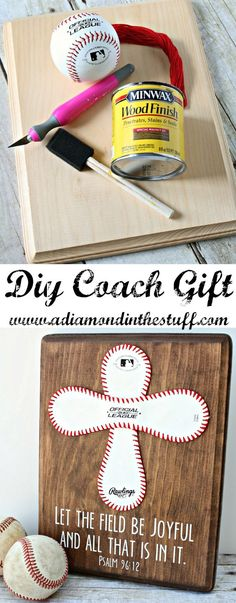 DIY Coach Gift | A Diamond in the Stuff