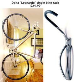 bike rack  had this at my old apartment, loved it! I created a room divider with it