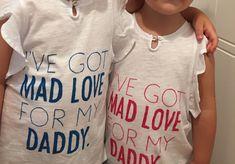 t-shirt fête des pères filles photos soeurs cadeau