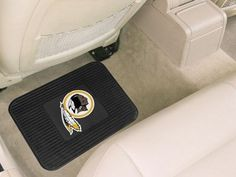 Washington Redskins Heavy Duty Vinyl Rear Seat Car Utility Mat