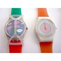 Everyone who was anyone had a Swatch. And if you were extra cool, it had a swatch guard on it. Remember the bands would eventually turn green?