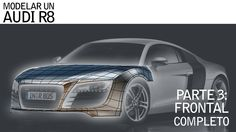Modelando un AUDI R8: FRONTAL COMPLETO