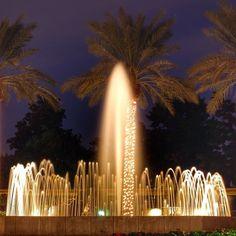 The fountain at the Arizona Biltmore, A Walforf Astoria Resort, A Waldorf Astoria Resort.