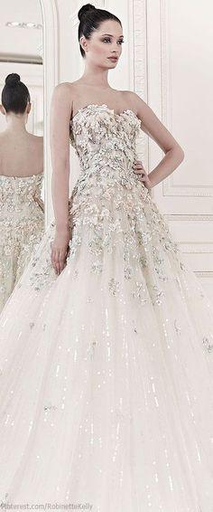 Tendance Robe De Mariée 2017/ 2018 : Zuhair Murad Bridal | S/S 2014 Stunning Wedding Dress! #wedding #weddingdress #b