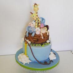 Per il primo compleanno di mio figlio.  - Cake by Sabrina_Adamo