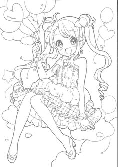 Pony Drawing, Drawing Base, Manga Drawing, Art Drawings Beautiful, Art Drawings Sketches Simple, Cute Coloring Pages, Coloring Books, Lineart Anime, Simple Anime