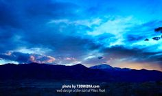 4-22-14 | http://www.720media.com/ End of #earthday #coloradosprings #sunset photo by Taa Dixon #720MEDIA #webdesign