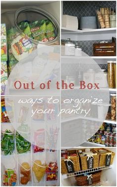 Out of the box ways to organize your pantry
