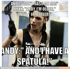 Gotta love Andy Biersack