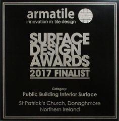 SDS Finalist Plaque Lazer etched bespoke design