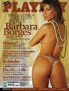 Bárbara Borges - Playboy (Fevereiro) 2005