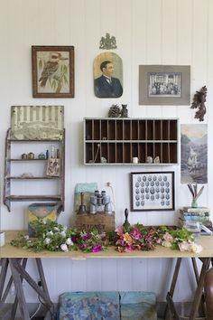 The Naturalist's desk - Ingrid Weir, The Old School Master's House (Australia)
