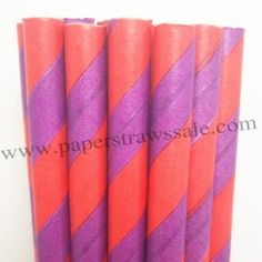Halloween Paper Straws Purple Red Stripe http://www.paperstrawssale.com/halloween-paper-straws-purple-red-stripe-500pcs-p-805.html