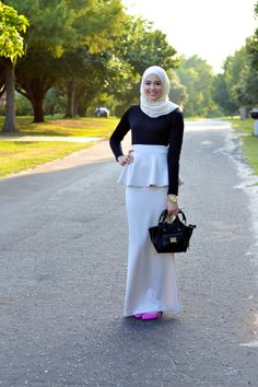 Say It With Style Peplum Skirt RM89.90