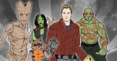 Too long; didn't watch: Chris Pratt is shirtless and we are Groot.