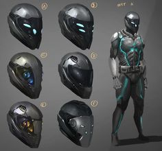 futuristic helmet designs - Google Search