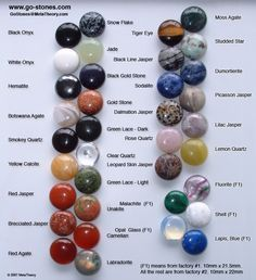 List of Semi-Precious Stones | semi precious go stones for the serious collector 180 stones per set ...
