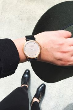 Shore Projects watch. Sleek and chic.