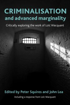 This book represents the first full-length critical and interdisciplinary assessment of Loïc Wacquant's work in English. Wacquant's challenging critique of the neo-liberal government of crime and the punitive culture to which this is related has shaken criminology to its foundations. In a bold political analysis he describes how the US-led revolution in law and order has dismantled the welfare state, replacing it with a disciplinary and penal state.