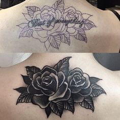 Tattoo rose skull life 65 ideas for 2019 Tattoo rose skull life 65 ideas for 2019 This image Black Rose Tattoo Coverup, Rose Tattoo Cover Up, Black Tattoo Cover Up, Black Rose Tattoos, Good Cover Up Tattoos, Cute Tattoos, Beautiful Tattoos, Flower Tattoos, Body Art Tattoos