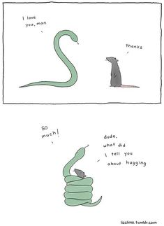"""""""The small world of Liz"""", a selection of small cute comics created by American illustrator Liz Climo, which features some very adorable animals in funny and t"""